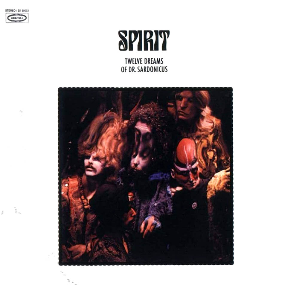 Image result for spirit the album sleeves