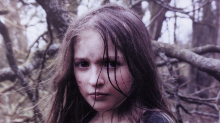 Young girl in forest for Honeyblood 'Babes Never Die' album artwork