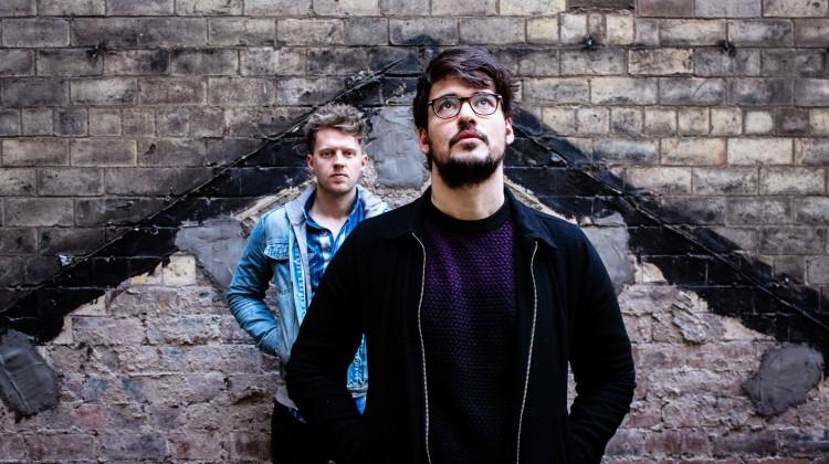 Promo image of ISLE band for Faults single