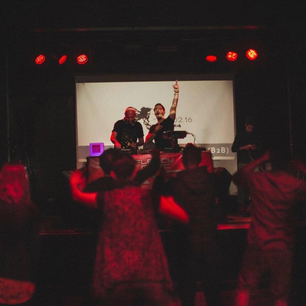 Brewhouse EP launch. JP Lantieri & Andrew Consoli rocking the decks.