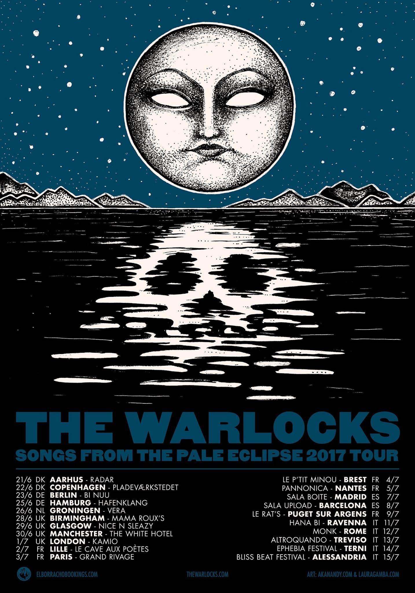The Warlocks - Euro Tour
