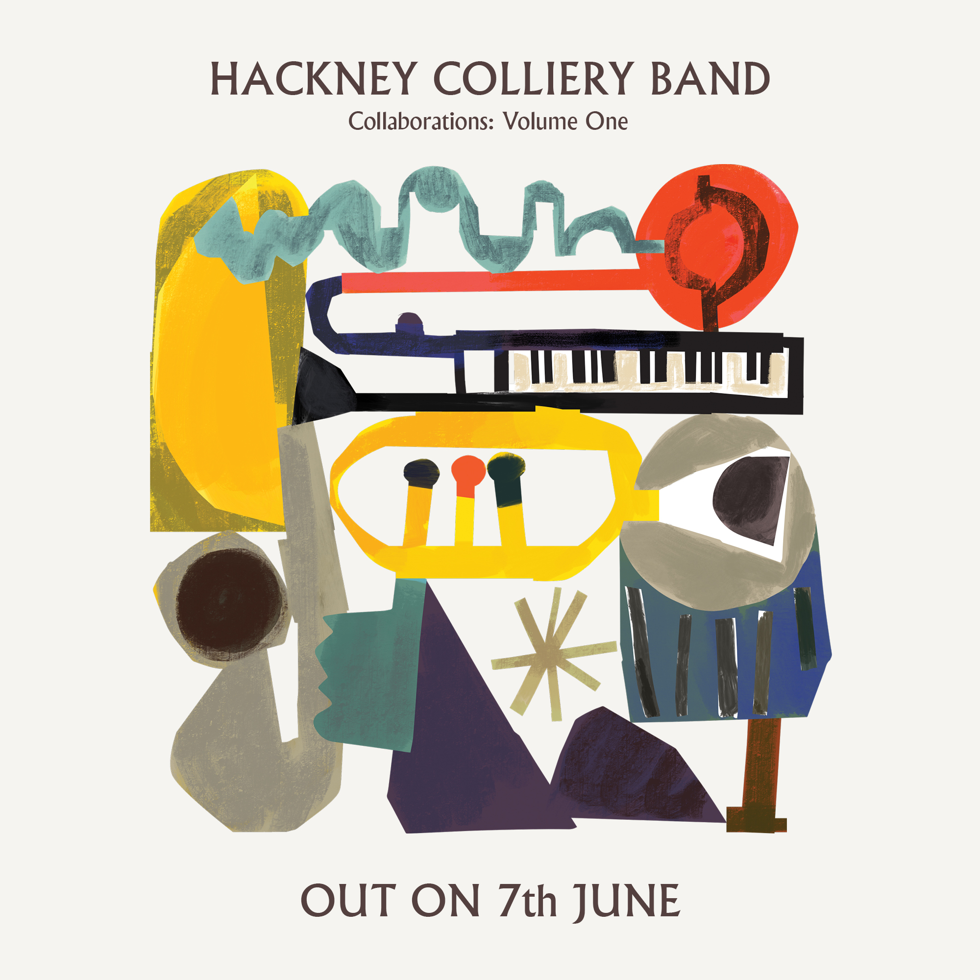 Picture of Hackney Colliery Band Collaborations Volume 1 album cover
