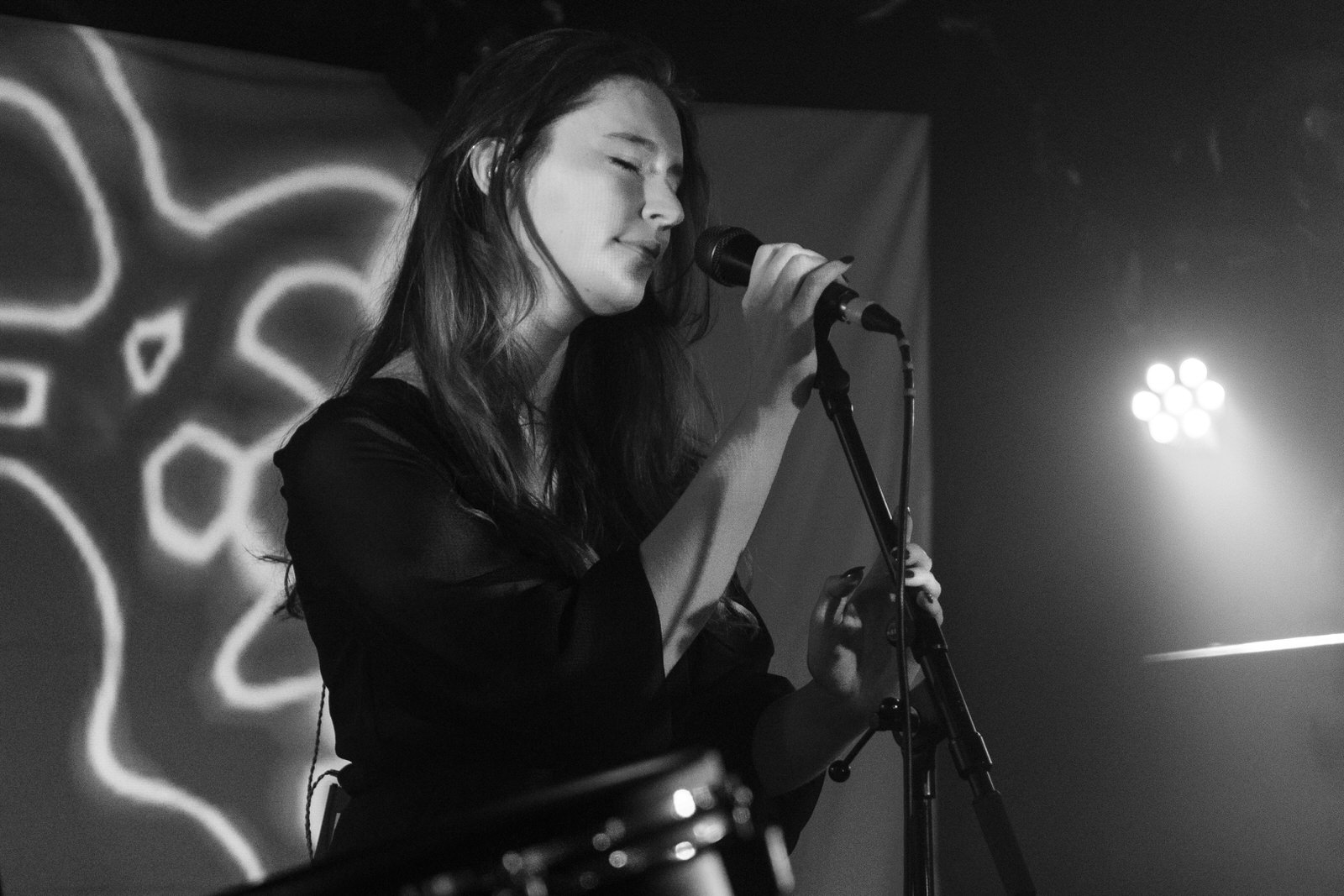 OK Button on stage at King Tut's Glasgow on 28 July 2019