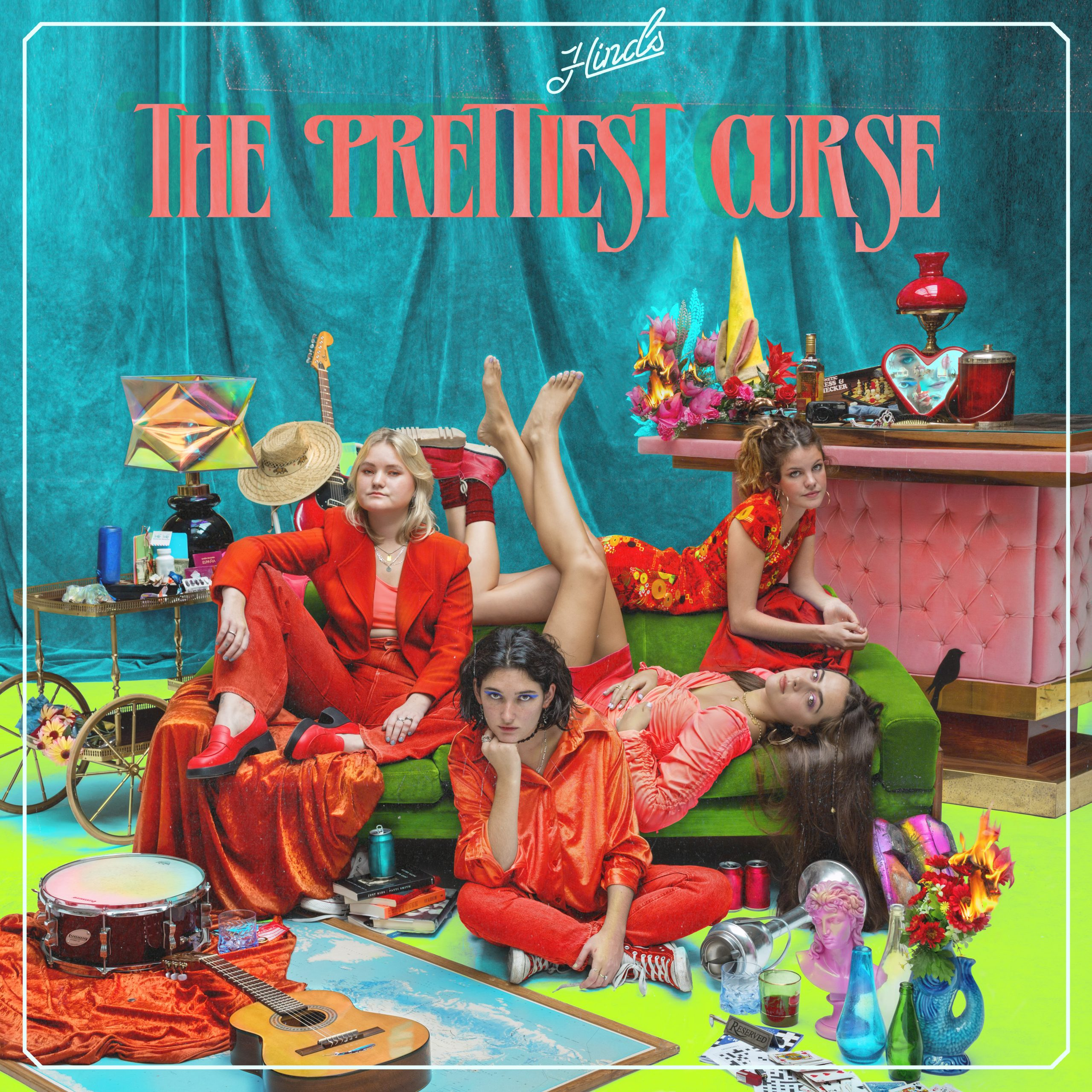 Album artwork for 'The Prettiest Curse' by Hinds