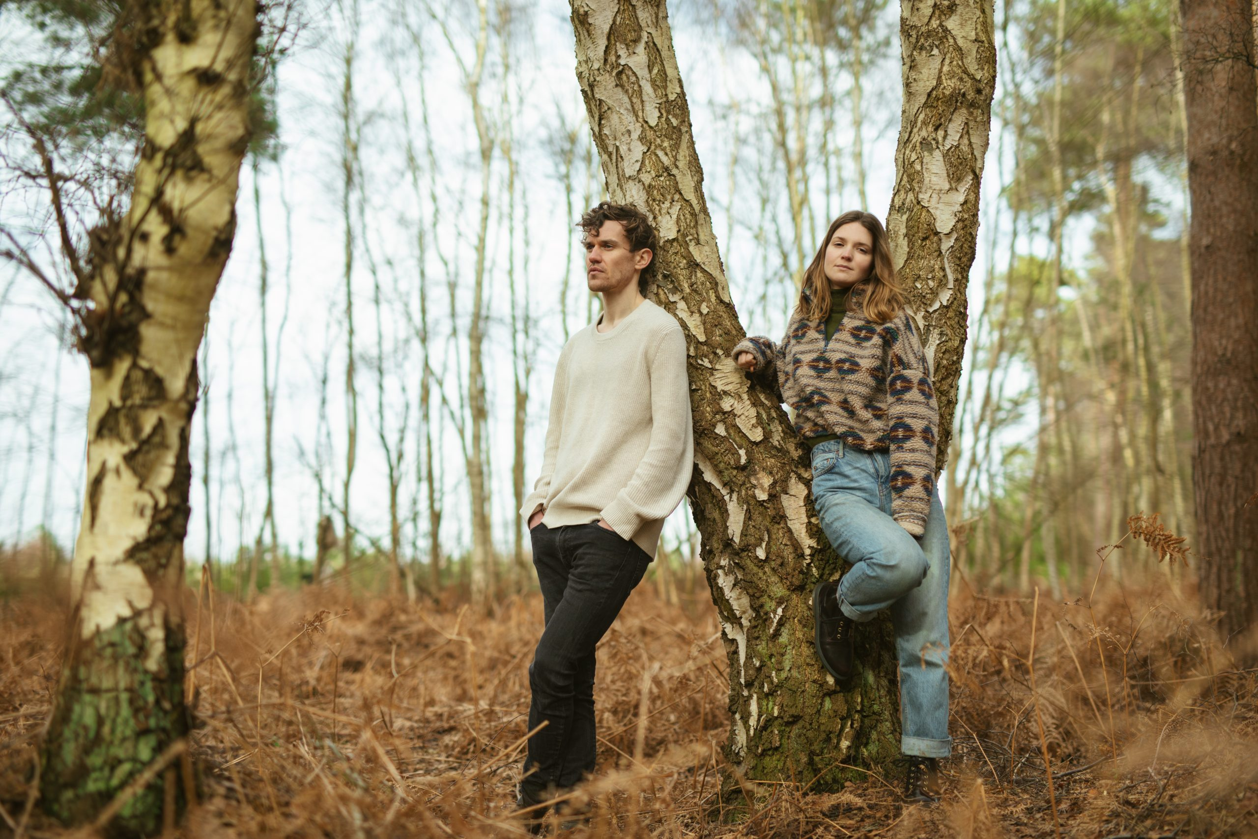 Tommy Ashby and Lydia Clowes press shot.