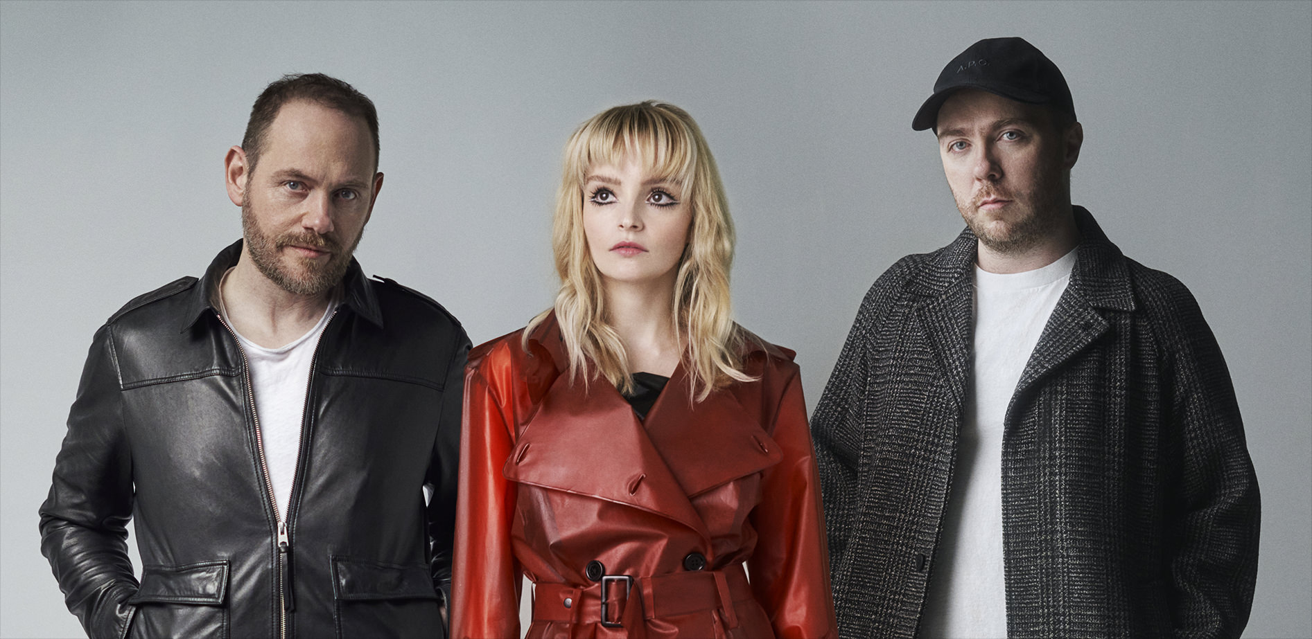 Photo of the band CHVRCHES