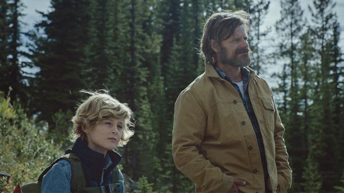 Joe and Troy enjoying nature
