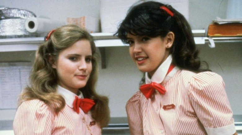 Stacy and Linda at work