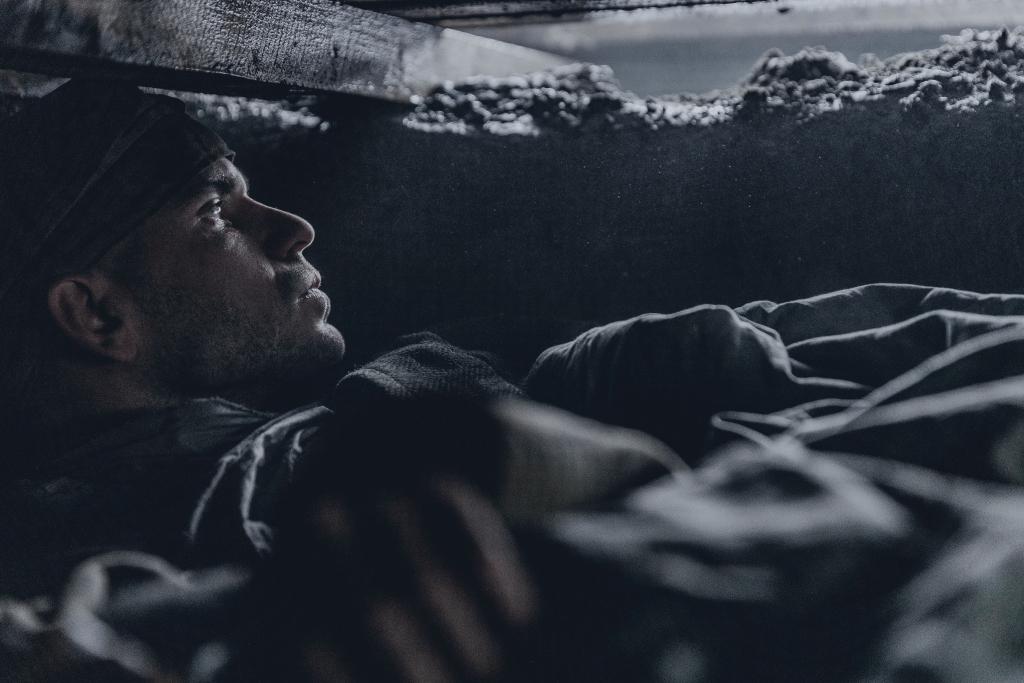Freddy and Valér in hiding