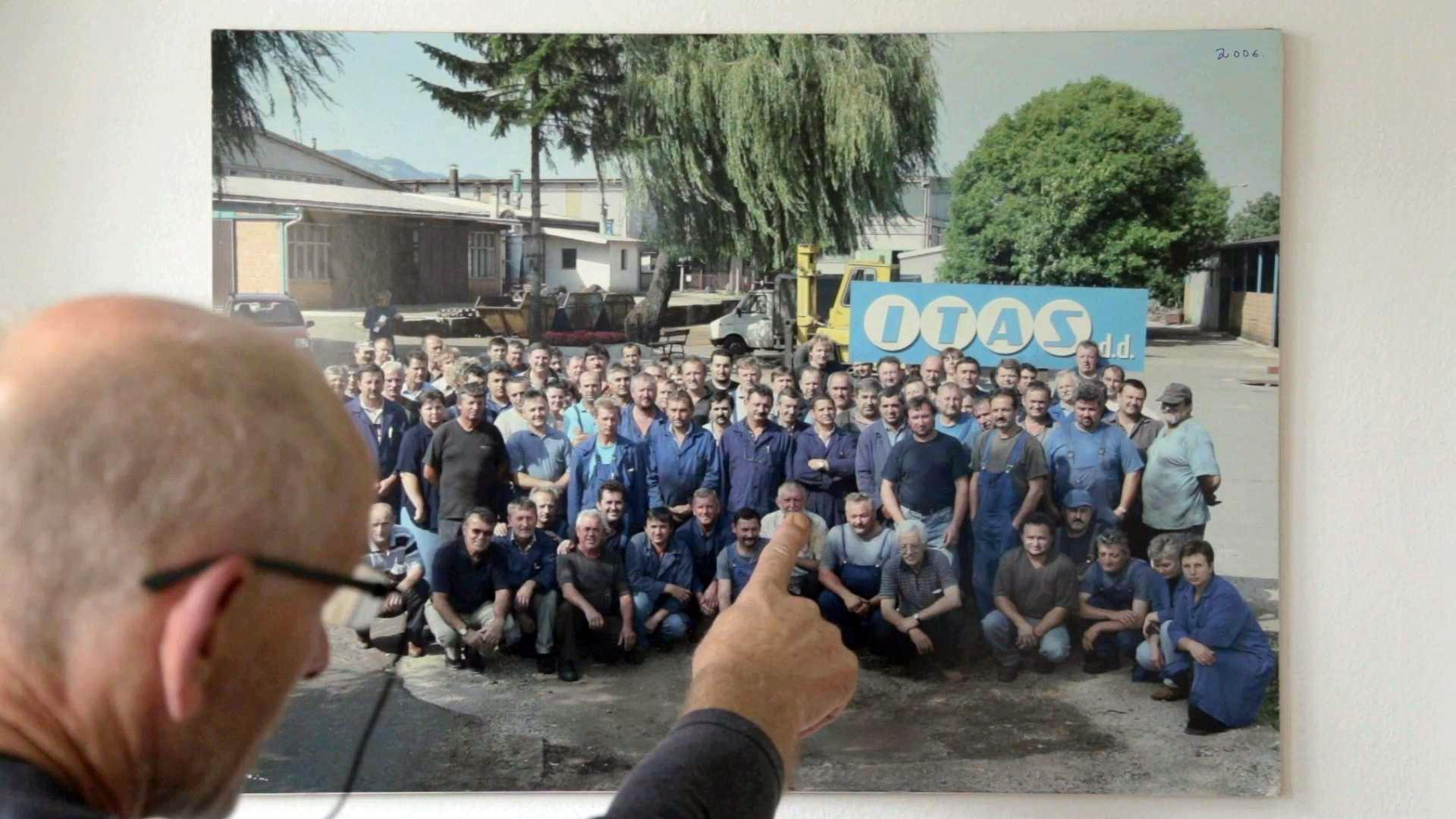 A picture of the original workers in 2005