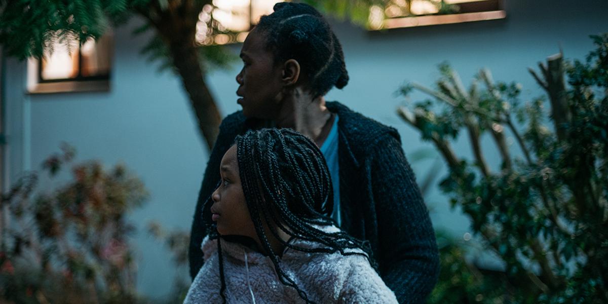 Tsidi and her daughter